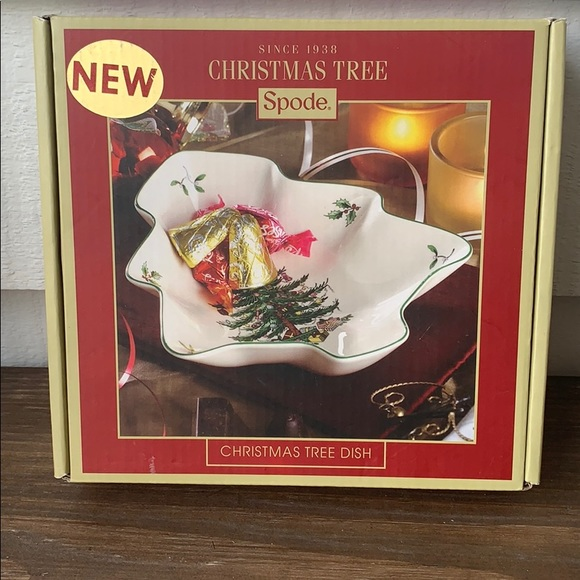 Spode Other - Spode Christmas Tree Dish NWT